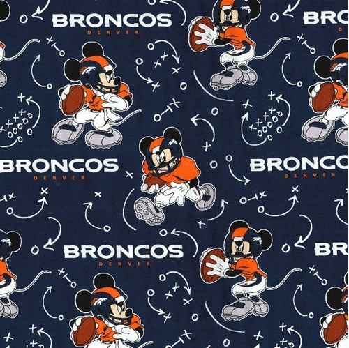 Denver Broncos Mickey Mouse