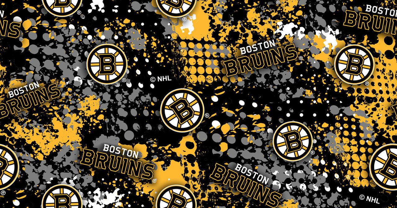 Boston Bruins Splatter